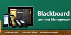 بلاك بورد Blackboard للايفون